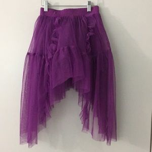 D signed by Disney skirt in purple size 7/8